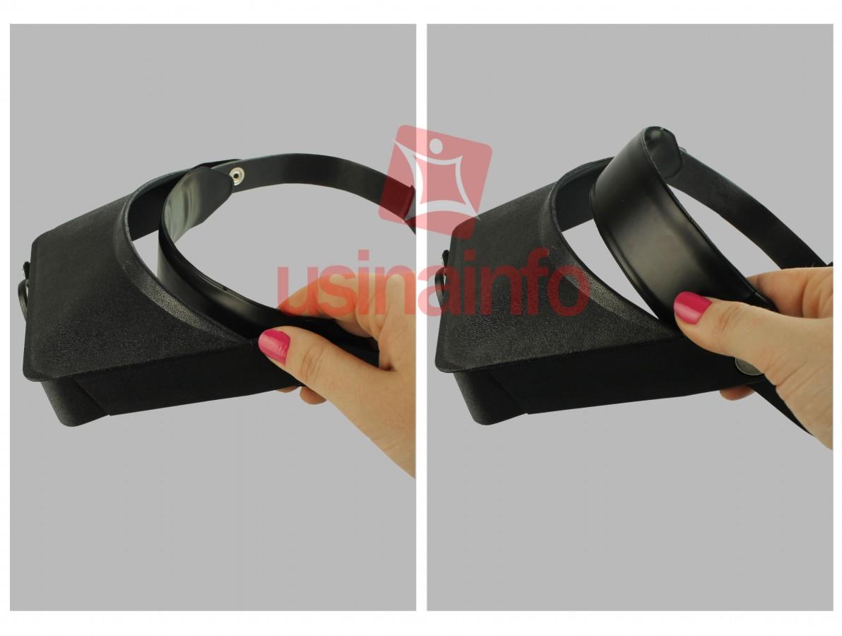 Lupa de Cabeça SLC-1008 - Aumento 1.8D 2.3D 3.7D 4.8D