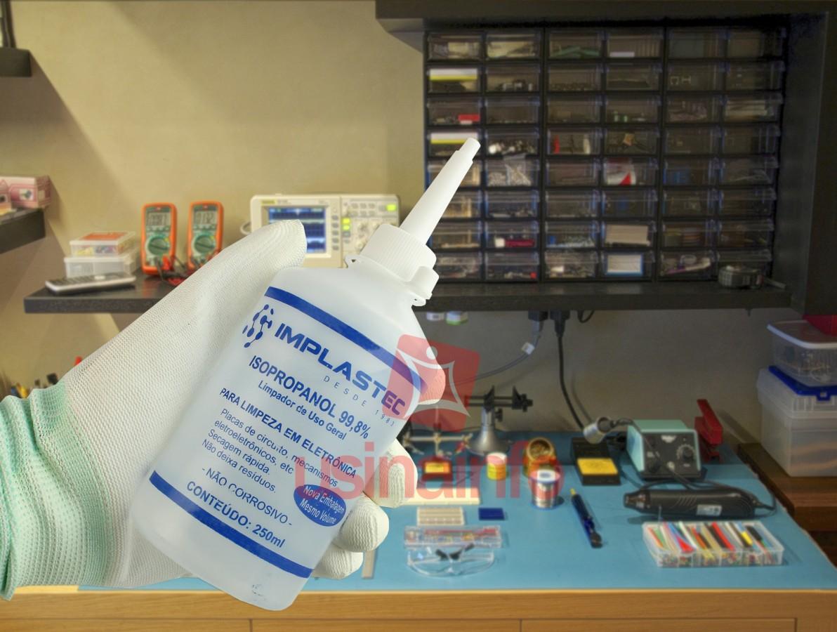 Álcool Isopropílico Líquido 99,8% - Implastec 250ml