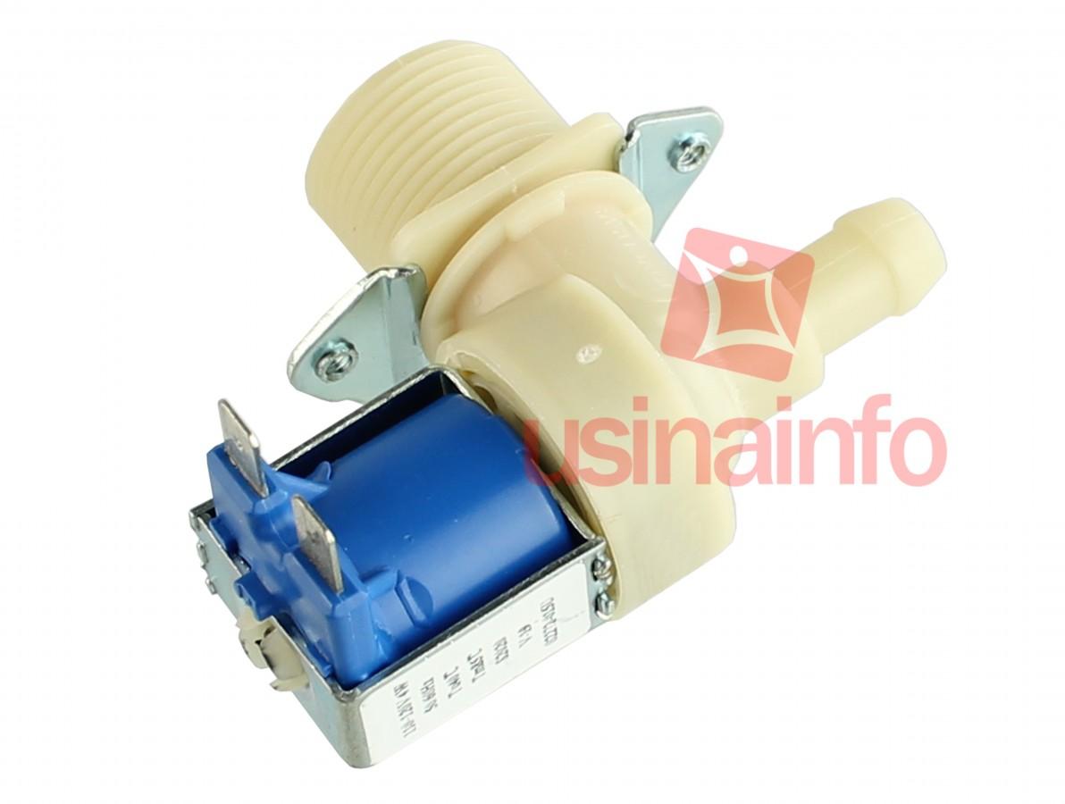 Válvula Solenoide para Água 127V ou 220V NF 90° (3/4 x mang. 3/8)