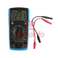 Medidor LCR Digital para Indutores, Capacitores e Resistores - Minipa MC-155