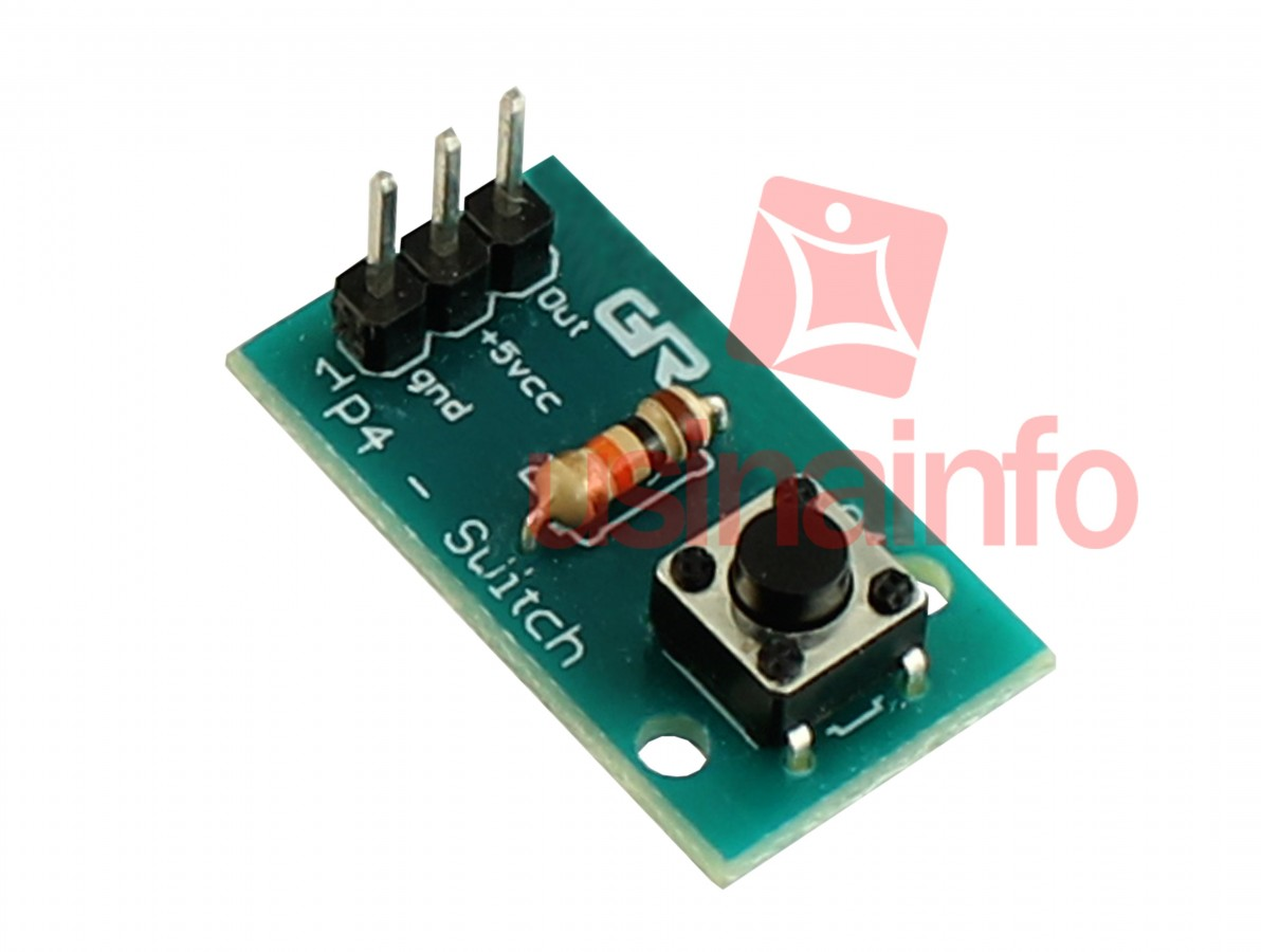 Módulo Push Button Switch / Chave táctil 6x6x5 para Projetos - P4