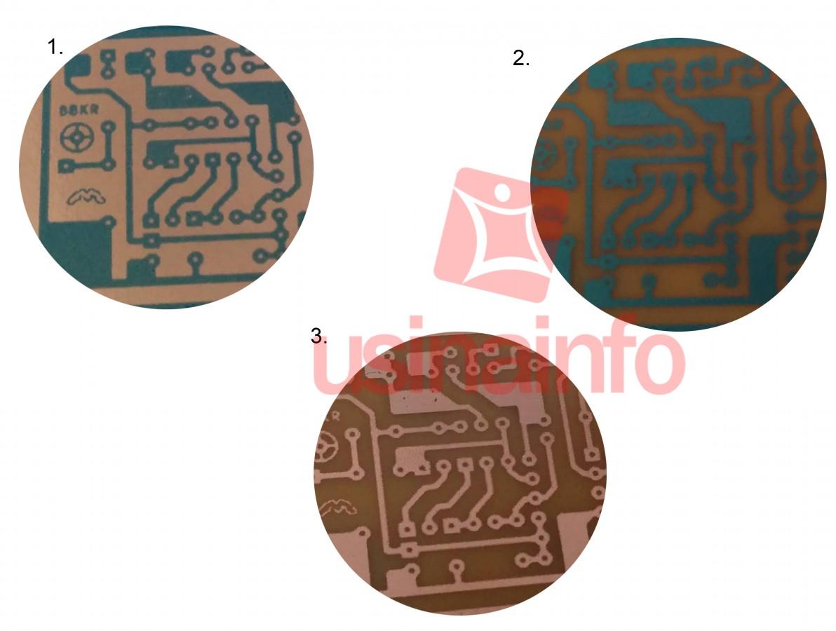 Tinta Fotossensível Azul para Trilha de Circuito Impresso - 50g