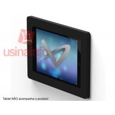 Suporte de Parede para iPad 2, 3 e 4 - Modelo Luxo para Automação Residencial - Parland Preto