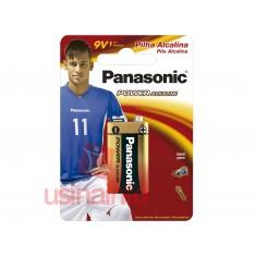 Bateria 9V Alcalina - Panasonic