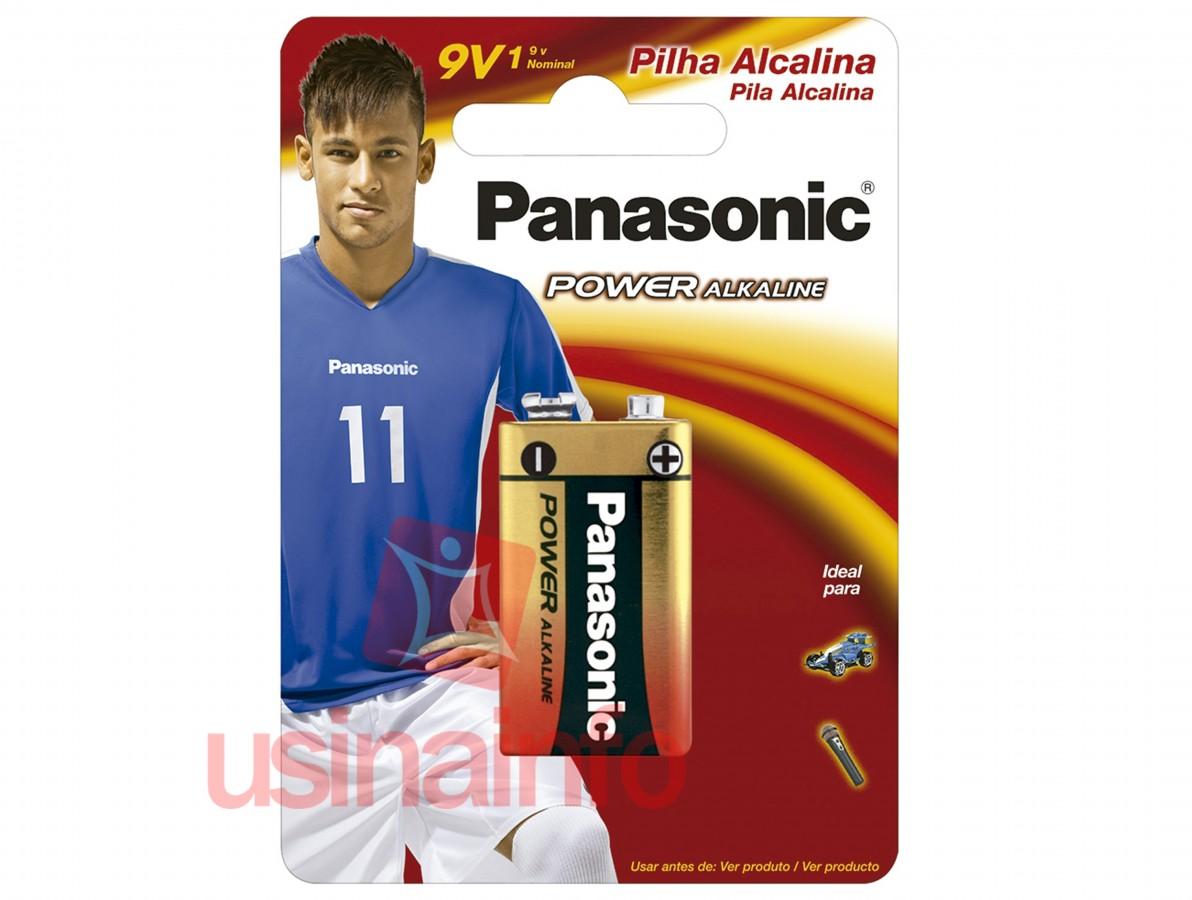 BAT PANASONIC 9V ALCALINA 6LR61