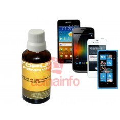 Removedor de Cola UV (Ultravioleta) de Touch Screen e Tela LCD - Octopus Remover 30mL