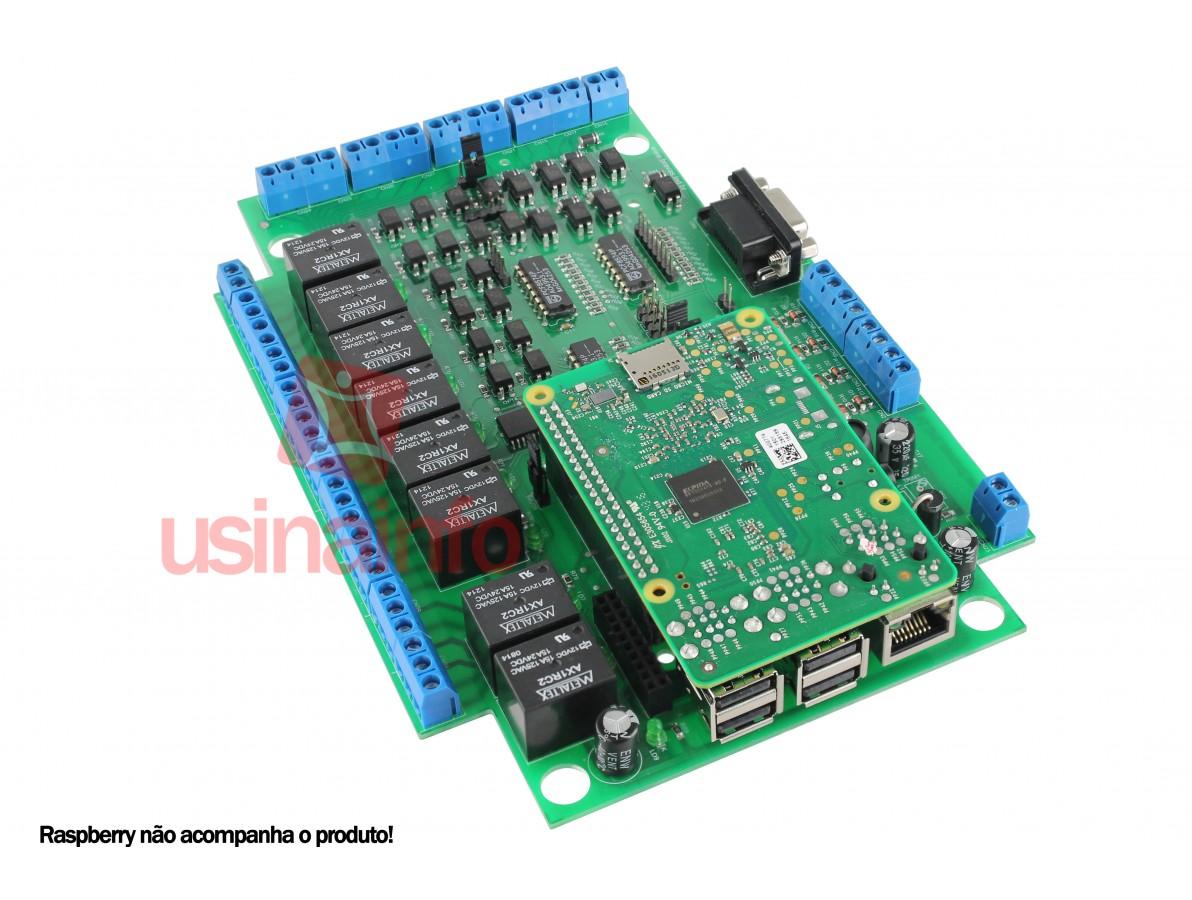 Shield Raspberry Pi 3 Bravas V1.01 para Automação Residencial