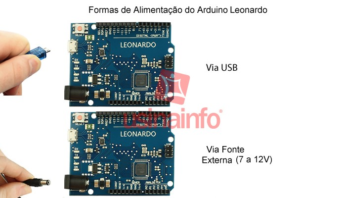 Arduino LEONARDO R3 + Cabo USB