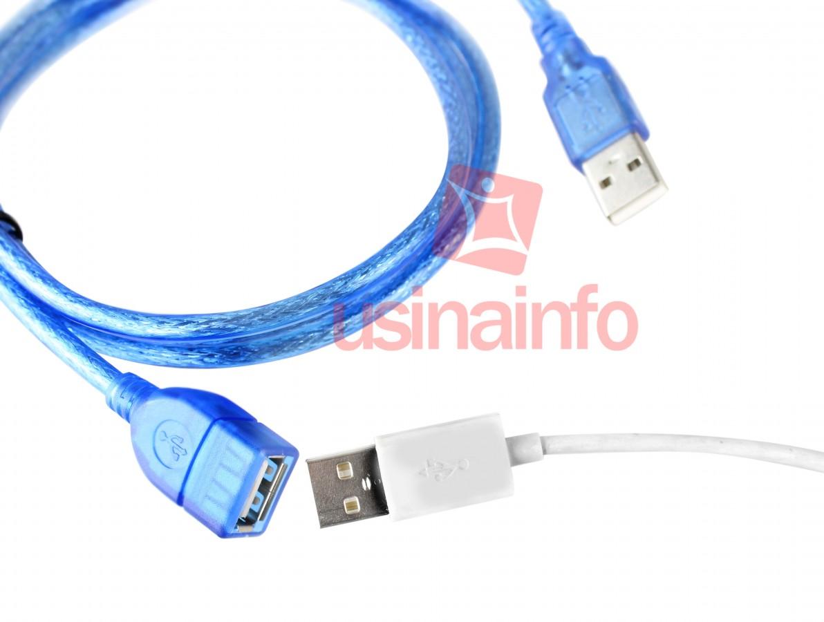 Cabo Extensor USB Macho X Fêmea 1,5m com Filtro - Shone