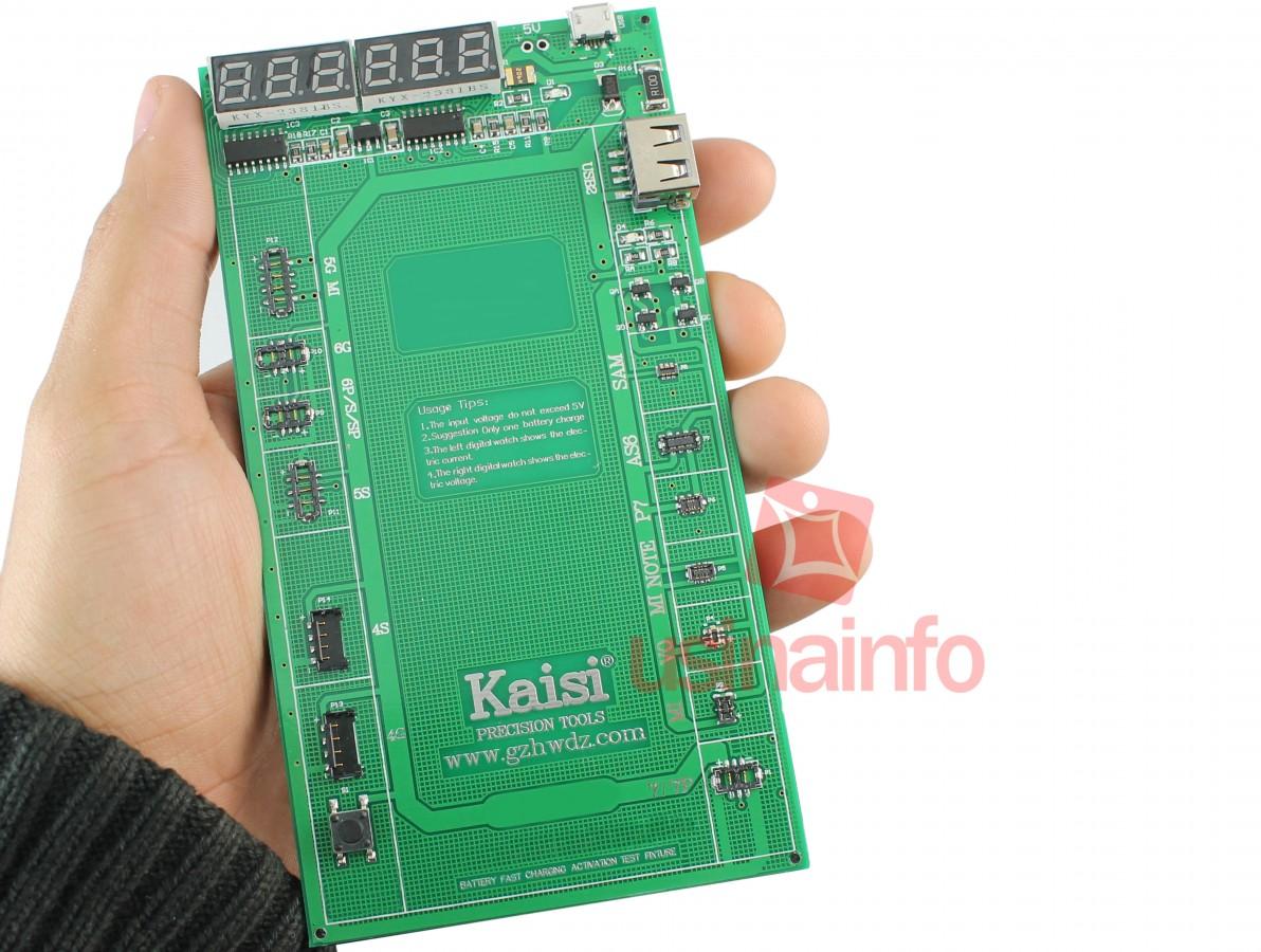 Ativador de Bateria Iphone 7 / 7P / 6 / 6 P/ 5S / 5 / 4S / 4 / iPad 1 2 3 4 / Mini 2 3 4 / Air 1 2 e Outros - Kaisi K-9208