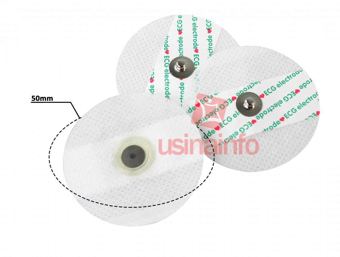 Eletrodo ECG para Sensor Muscular e Sensor Cardíaco Arduino - Kit com 3 Unidades