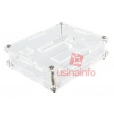 Case para Termostato Digital W1209 em Acrílico + Parafusos