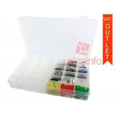 Caixa Organizadora com 36 divisórias ajustáveis (Pequenos Defeitos)