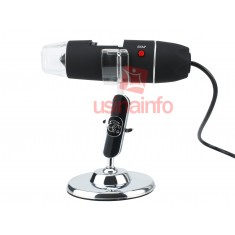 Microscópio Digital USB 2.0MP 500X U500 - Distância Focal 0 a 20mm