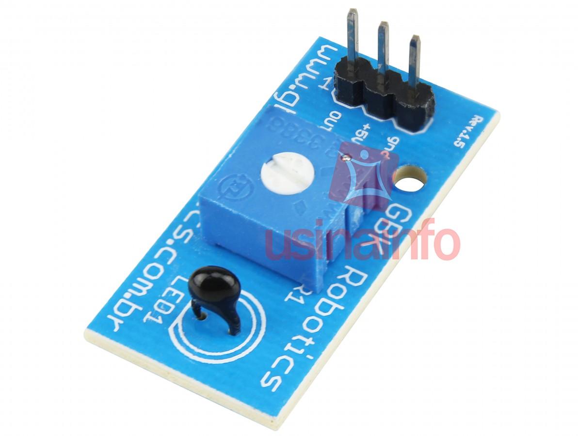 Módulo Sensor de Temperatura NTC 10K - GBK