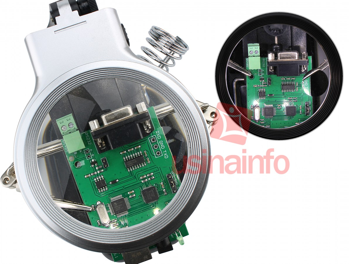 Lupa com Suporte Terceira Mão Premium 3D e 4.5D com Iluminação LED