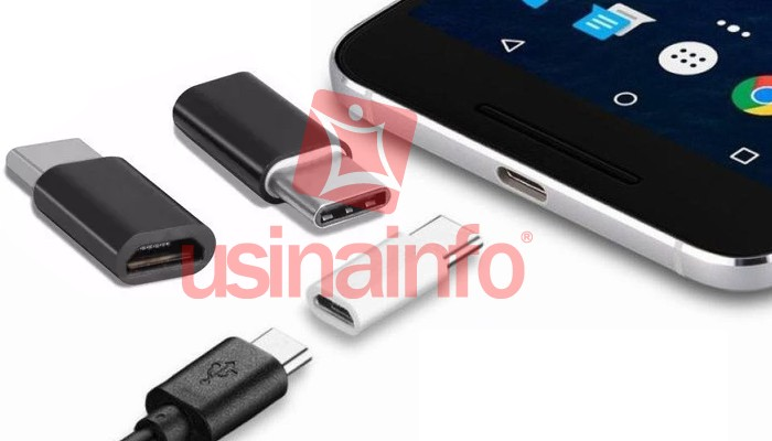 Adaptador Micro Usb para USB Tipo C