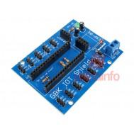 GBK IOT Shield para Arduino Nano com Conexão para ESP8266