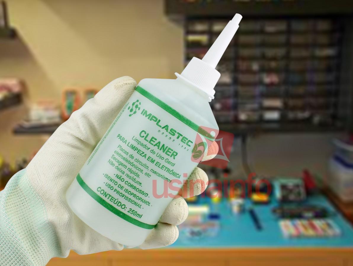 Cleaner Implastec para Limpeza Eletrônica 250ml de Uso Geral