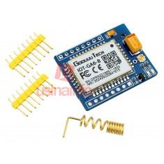 Módulo GSM Arduino A6 GSM/GPRS/SMS Quad-Band - Com Slot para SIM + Antena
