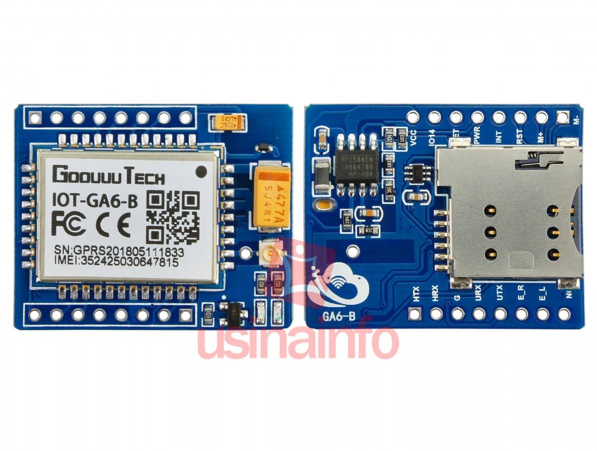 A6 Gsm Arduino Receive Sms