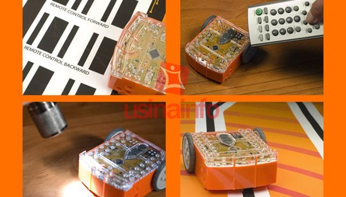 Robô Edison V2.0 para Robótica Educacional - Compatível com Lego