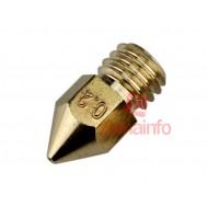 Nozzle Bico Extrusora Impressora 3D 0.2mm
