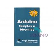Livro Arduino Simples e Divertido com 40 Projetos GBK