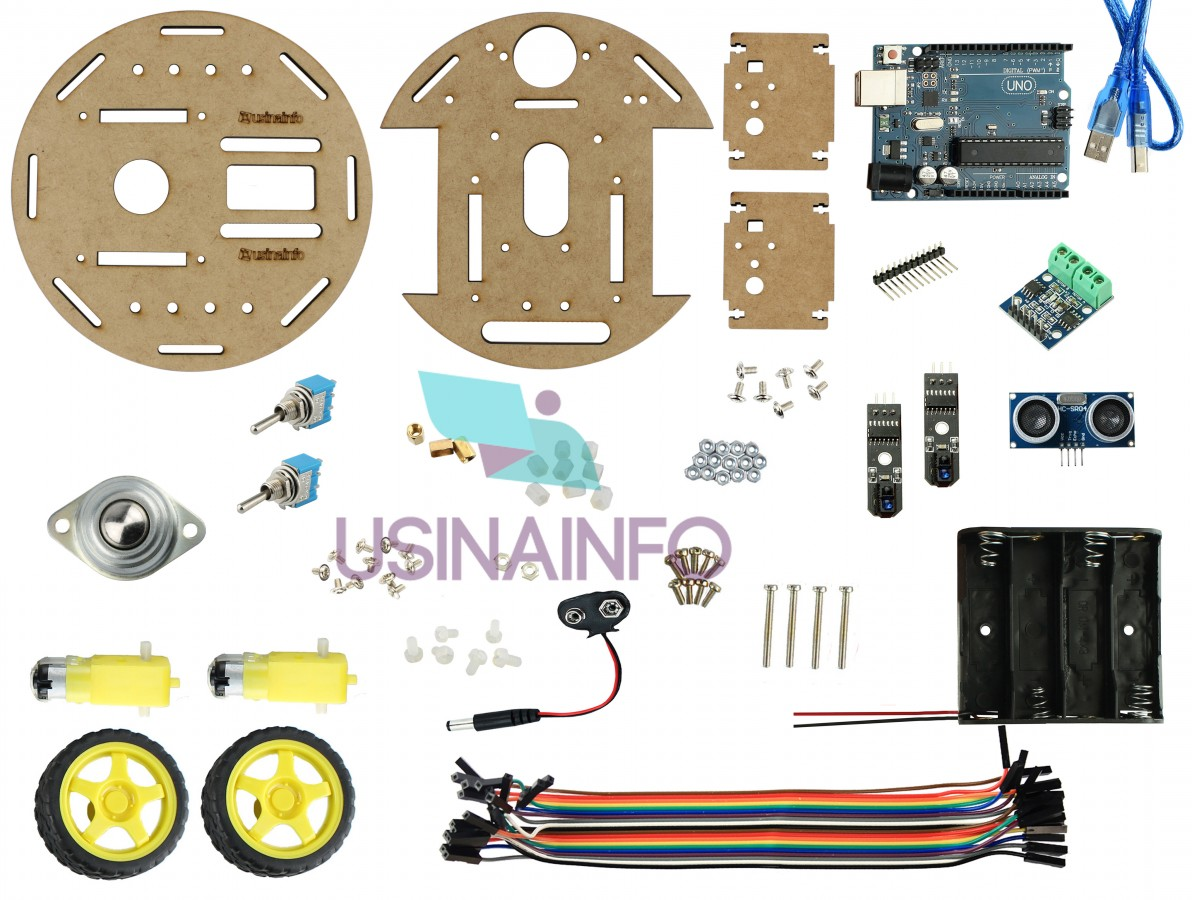 Kit Robótica Robô Sumô Arduino