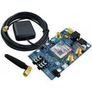 SIM808 Módulo GSM, GPS e Bluetooth Arduino Quad-band com Slot para SIM + Antenas