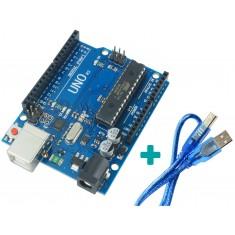Placa Uno R3 Arduino + Cabo USB