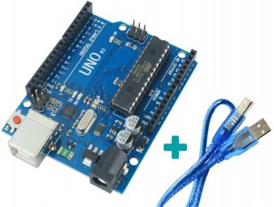 Arduino Uno R3 + Cabo USB