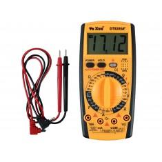 Multímetro Capacímetro Digital com 32 Escalas DT9205A+ CAT II 1000V