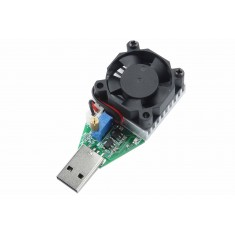 Simulador de Carga Resistiva Ajustável 0.15A a 3A USB com Cooler W315