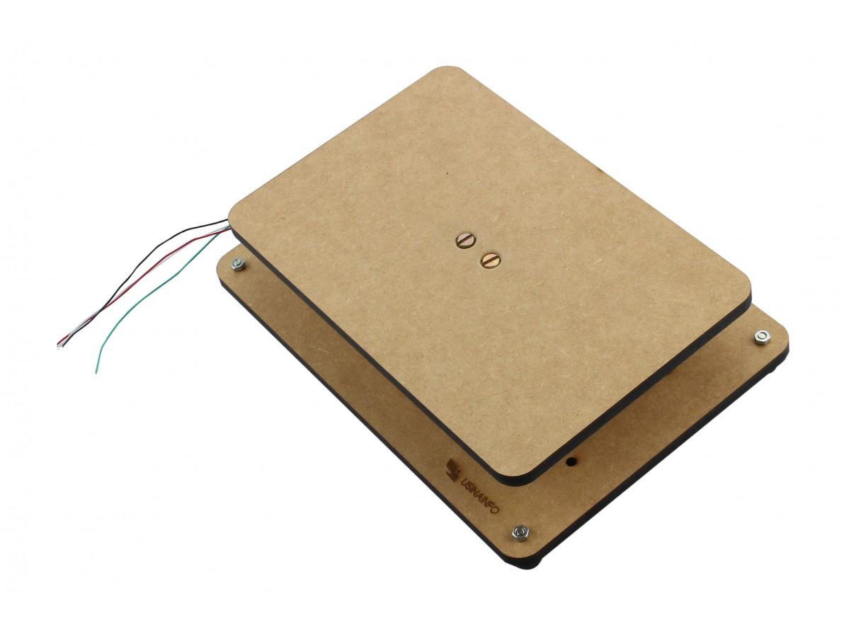 Balança para Arduino 0 a 5Kg em MDF 6mm + Célula de Carga - PL05