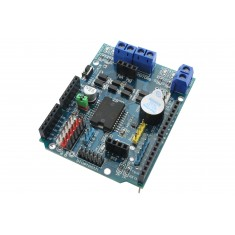 Motor Shield L298 Driver Ponte H com Interface para Servo Motor e Bluetooth