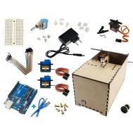 Useless Box Arduino / Caixa Inútil Completa BS100 + Manual de Montagem