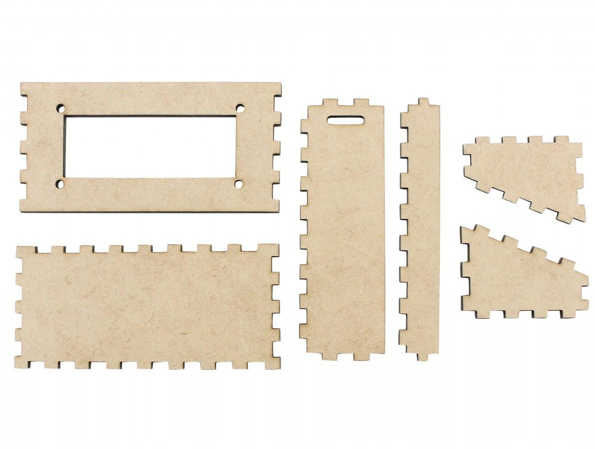 Suporte para Display 16x2 Case em MDF - SD162-5
