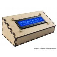 Suporte para Display 16x2 Case em MDF - SD162