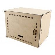 Case em MDF para Cofre Arduino Valorem + Manual de Montagem