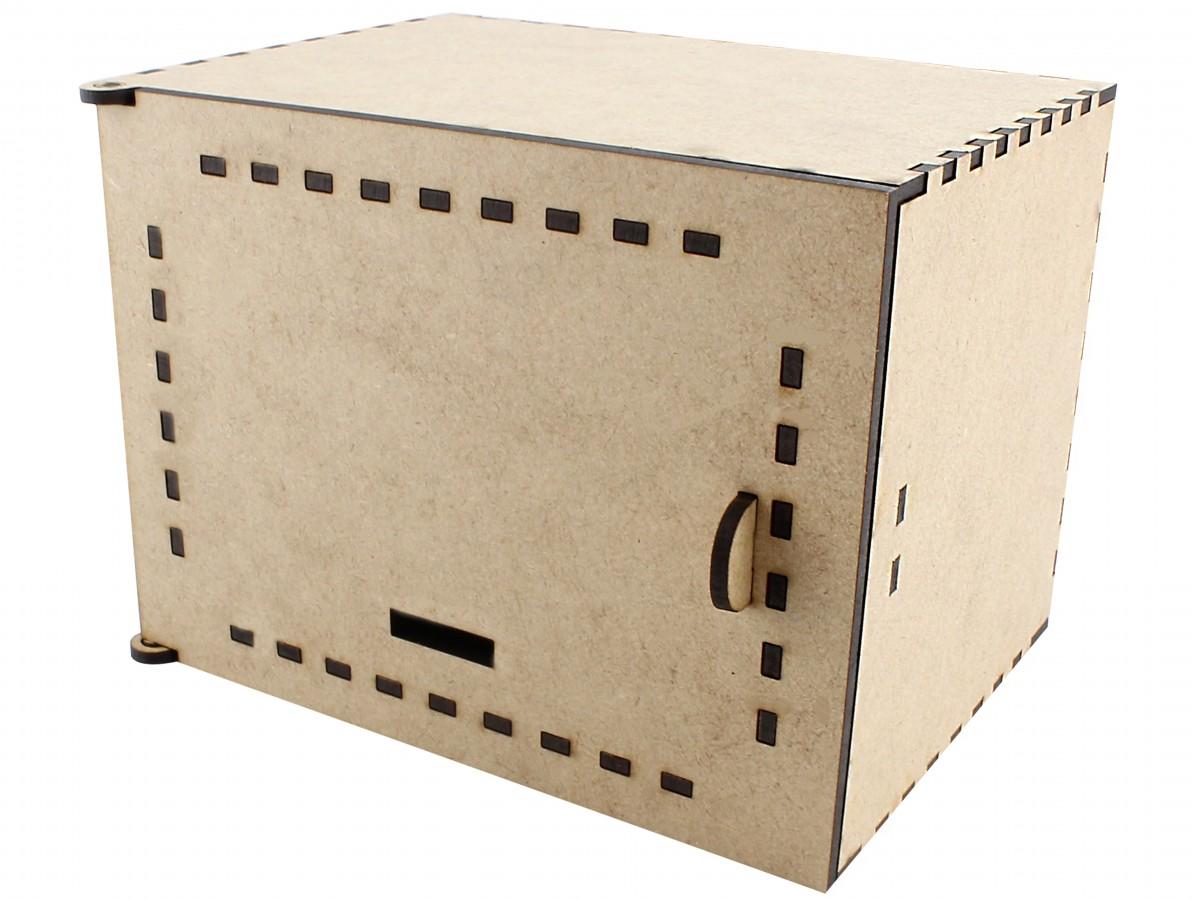 Case em MDF para Cofre Arduino CA100