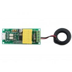 Voltímetro AC Wattímetro Amperímetro PZEM-004T V3.0 100A 260V com Saída TTL