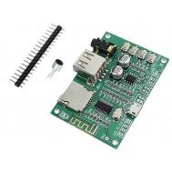 Módulo MP3 Decodificador Bluetooth BT201 com Micro SD e USB
