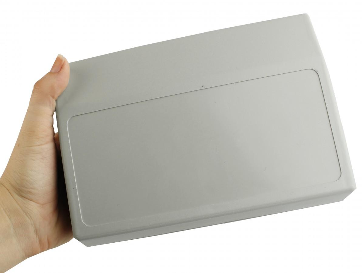 Caixa Patola / Case para Montagem 66 x 200 x 142 mm - PB-900/2 Cinza