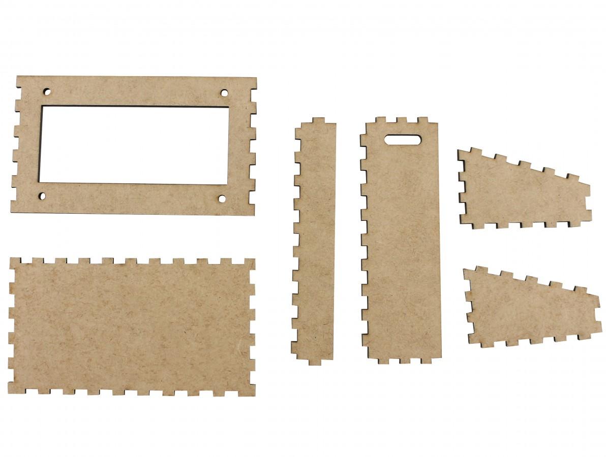 Suporte para Display 20x4 Case em MDF - SD204