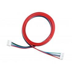 Cabo para Motor de Passo da Impressora 3D Conector JST 4 / 6 Pinos com 4 Vias