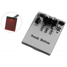 Sensor de Toque Capacitivo Httm com Led Vermelho