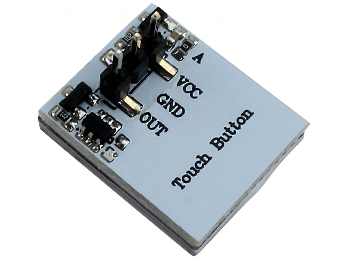 Sensor de Toque Capacitivo Httm com Led Azul