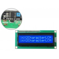 Display LCD 16x2 I2C com Fundo Azul