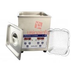 Cuba Ultrassônica Digital 2Lts para Limpeza e Desoxidação com Função Aquecimento - JP-010S 220V
